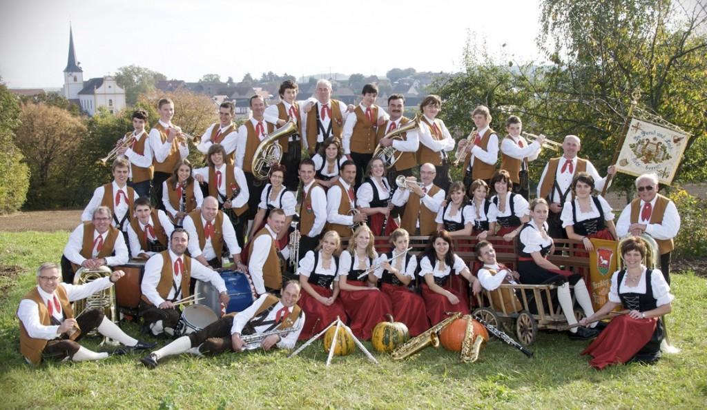 """Musikverein """"Frankonia"""" Bütthard, Sept. 2009"""